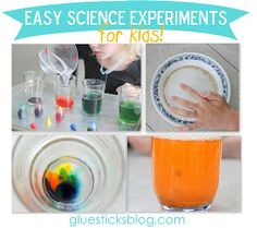 Easy Science Experiments for Kids: With basic kitchen ingredients.