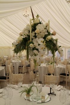 Never have so many exquisitely beautiful flowers been squeezed in to one FD Events delivery box, A beautiful Bridal Bouquet and eight stunn. Gold Wedding, Wedding Flowers, Crystal Candelabra, Marquee Wedding, St Michael, Flower Designs, Big Day, Beautiful Flowers, Bouquet