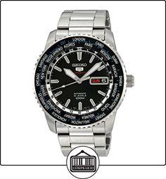 Seiko SRP127K1 - Reloj analógico automático para hombre con correa de acero inoxidable, color plateado de  ✿ Relojes para hombre - (Gama media/alta) ✿