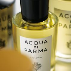 Acqua di Parma Colonia The first true Italian eau de cologne. Pure joie de vivre released by the sunny essences of the finest Sicilian citrus fruits and a harmonious blend of lavender, rosemary, verbena and damask rose. This is followed by warm woody notes like vetiver, sandal and patchouli.The elegant Art Deco bottle, with its distinct bakelite stopper has been an undisputed style icon since 1930. A timeless classic.