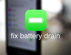Battery drain can happen after software updates, due to out-of-date settings or holdovers from previous versions. Cory Bohon explains how to fix these battery drains after performing a software update.
