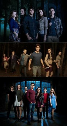 Teen wolf. I am so hooked on this show..its amazing! I just finished season 1!