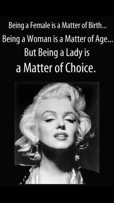 MARILYN MONROE QUOTES ♡                                                                                                                                                                                 More