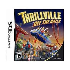 Thrillville: Off the Rails (Nintendo DS, for sale online Ds Games, Mini Games, Nintendo Ds, Best Graphics, Roller Coaster, Arcade Games, Plays, Entertaining, Games