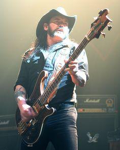 Lemmy Kilmister - Motörhead, Hawkwind, The Rockin' Vickers, Opal Butterfly, The Damned, The Head Cat, Girlschool, Sam Gopal