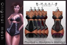 Angelica Lingerie Sugar Group Gift by MAAI