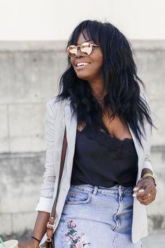 Ray Ban Rose Gold Round Sunglasses | Black Fashion Blogger | Coco Bassey | MILLENNIELLE