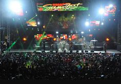 Reggae Sumfest, the largest music festival in Jamaica, takes place over 5 days in July. DJs, Jamaican reggae artists, including the Marley's, as well as international artists take the stage in Montego Bay.