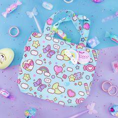 Get Kawaii Subscription Box – Kawaii Box Japanese Subscription Box, Kawaii Subscription Box, Cute Things From Japan, All Things Cute, Kawaii Bags, Kawaii Shop, Cute Squishies, Purple Candy, Neon Rainbow