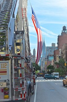 Just outside the 2013 FDNY Medal Day ceremony.