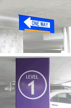 Hospital Parking Garage | Graphic Solutions | INPS Group