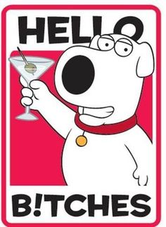 Family Guy Brian Griffin Hello Bitches Cell Screen Cleaner, http://www.amazon.com/dp/B00H9S8KS0/ref=cm_sw_r_pi_awdm_yhz8sb02JK6X3