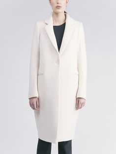 Enfold Melton Tailored Coat - Women/christophe lemaire | @andwhatelse