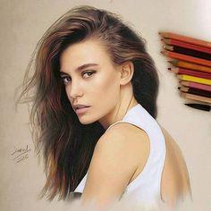 Gorgeous Drawing Works by Jawad Alghezi