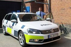 Ny politibil scanner din nummerplade | mja.dk