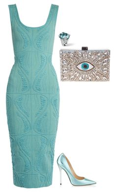 Senza titolo #5279 by marcellamic on Polyvore featuring polyvore fashion style Sophie Theallet Jimmy Choo GEDEBE clothing