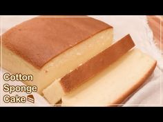 Taiwanese Castella Cake Recipe - Jiggly Fluffy Japanese cotton sponge ca. Sponge Recipe, Sponge Cake Recipes, Japanese Cotton Sponge Cake Recipe, Castella Cake Recipe, Bolo Chiffon, Cooking Foil, My Recipes, Cooking Recipes, Cotton Cake