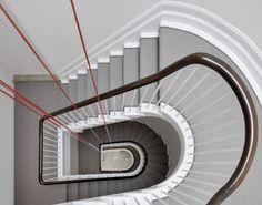Fred Sandback - Stairwell at Grafton St