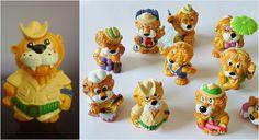 Kinder Ovo: Leo Venturas - Lançado em 1993 pela Kinder Ovo, eram 10 miniaturas de leões aventureiros. Na época o Kinder Ovo ainda custava 1 real, juro.
