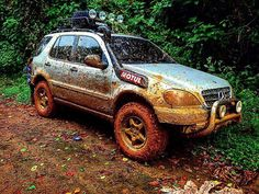 W163 ML320 off road, lifted