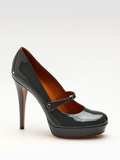 Gucci Betty Patent Leather Mary Janes