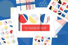 POP Pattern Bundle by Anugraha Design on @creativemarket