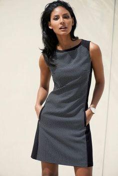 Mono Square Dress £45