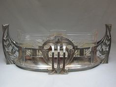 German WMF Art Deco centerpiece; TOTALLY a NEW car body kit model.. front, probably back piece too..