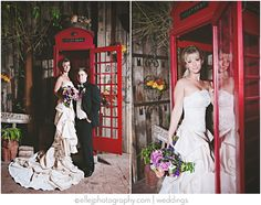 boojum tree bride   red phone booth