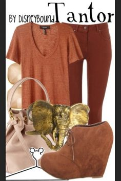 Disney fashion - Tantor (elephant) from Tarzan
