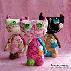 Crochet cat inspiration