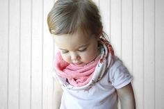 Learn how to make a quick & easy Infinity Scarf with this tutorial in both child and adult size.