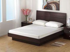 Wood Bed Design, Small Room Bedroom, Bedroom Furniture Design, Platform Bed Designs, Bed Furniture Design, Bed Design Modern, Modern Bedroom Interior, Bedroom Closet Design, Bedroom Bed Design