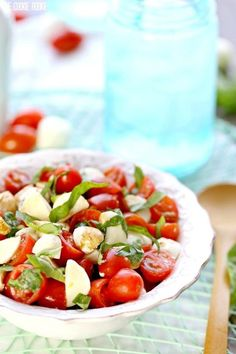 Chopped Mozzarella and Tomato Caprese Salad | 21 Healthyish Recipes For People Who Can't Live Without Cheese