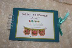 baby shower album guest book. £19.00, via Etsy.