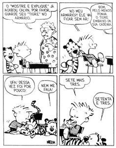 Tirinhas Calvin e Haroldo 4 #CalvineHaroldo #CalvineHobbes #Tirinhas
