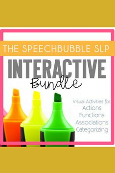 This interactive bundle contains activities for receptively matching actions and their text labels, objects and their illustrated functions, object with related objects, and object to categories!Help students start to building their fundamental language skills with these engaging activities.Use these activities to help your students start to learn and understand these keep concepts in their development of the language processing hierarchy.