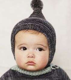 This baby looks like a Hümmel character! Tree Ring Bonnet – misha-and-puff Little Babies, Cute Babies, Little Girls, Beanie Babies, Beautiful Children, Beautiful Babies, Beautiful Eyes, Knitting For Kids, Baby Knitting