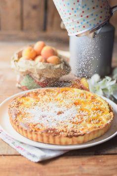 Aprikosen Joghurt Pie- Apricot Yogurt Pie  #summer #apricots #yogurt #cake | Das Knusperstübchen
