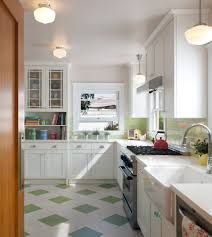 Image result for marmoleum kitchen floor stainless counter