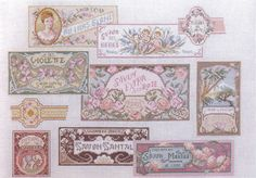 french perfume labels 1 of 3