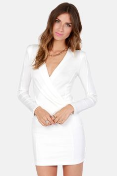 Foreign Film Ivory Dress $36 in #Winter #White Get 7% cash back http://www.stackdealz.com/deals/LuLu-s-Coupon-Codes-and-Discounts--/