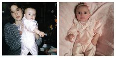 My girls in my favorite outfit, 18 years apart Alicia & Amelia