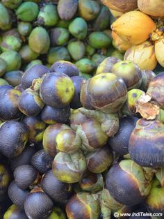 Palm fruit & Tender Coconuts Tourist Places TOURIST PLACES : PHOTO / CONTENTS  FROM  IN.PINTEREST.COM #TRAVEL #EDUCRATSWEB