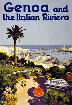 Genoa and the Italian Riviera. Genova