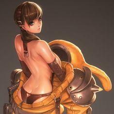 ArtStation - Bunny Guard, Ren Wei Pan
