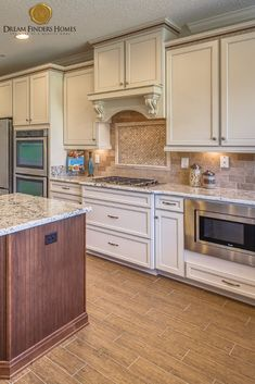 When designing your new kitchen, deciding on the design of the backsplash is one of the best parts! New Kitchen, Kitchen Decor, Kitchen Design, Kitchen Backsplash, Kitchen Cabinets, New Home Construction, Custom Kitchens, Interior Decorating, Interior Design
