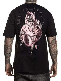 Sullen Men's Black Hearted Short Sleeve T-shirt Barber Shop Pictures, Inked Shop, Inked Magazine, Mens Flannel, All Brands, White Ink, Mens Tees, Sleeves, T Shirt