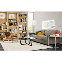 Modern Living Room Furniture - Room & Board  lamps