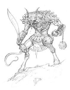 Psoglav by Max Dunbar for Sketch Dailies
